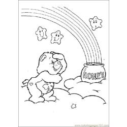 Care Bears04 Free Coloring Page for Kids