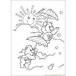 Care Bears05 Free Coloring Page for Kids