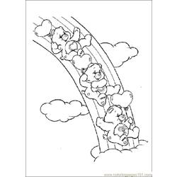 Care Bears07 Free Coloring Page for Kids