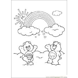 Care Bears08 Free Coloring Page for Kids