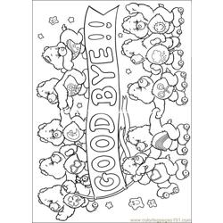 Care Bears12 Free Coloring Page for Kids