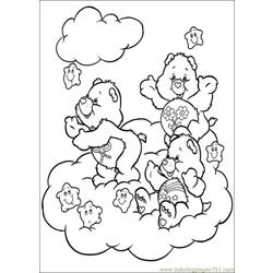 Care Bears13 Free Coloring Page for Kids
