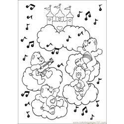Care Bears 19 Free Coloring Page for Kids