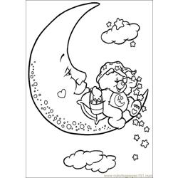 Care Bears9 Free Coloring Page for Kids