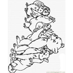 Re Bear 25 Lrg Free Coloring Page for Kids
