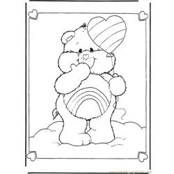The Care Bears 2 B290 Free Coloring Page for Kids