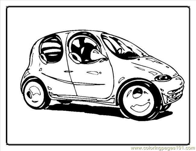 Cars Coloring Pages00048im
