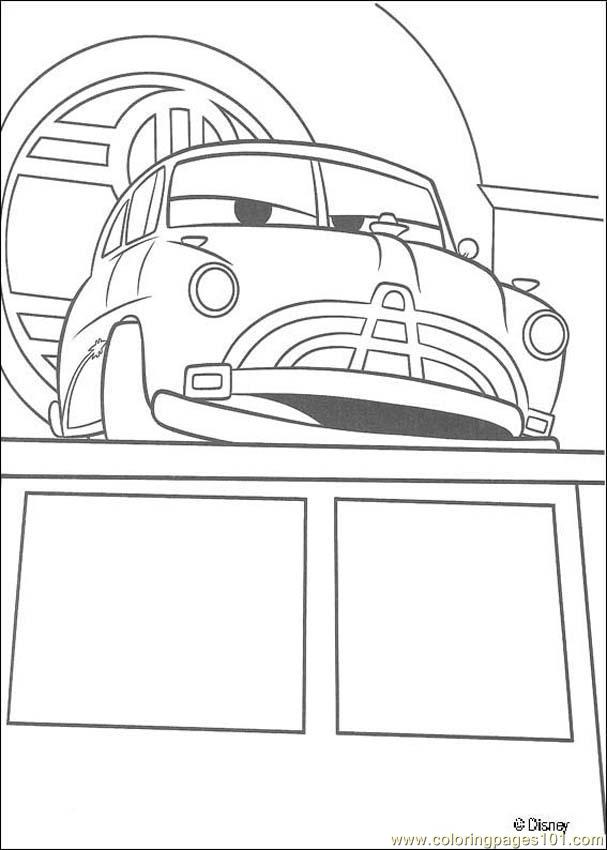 Cars N 21 5470 Coloring Page