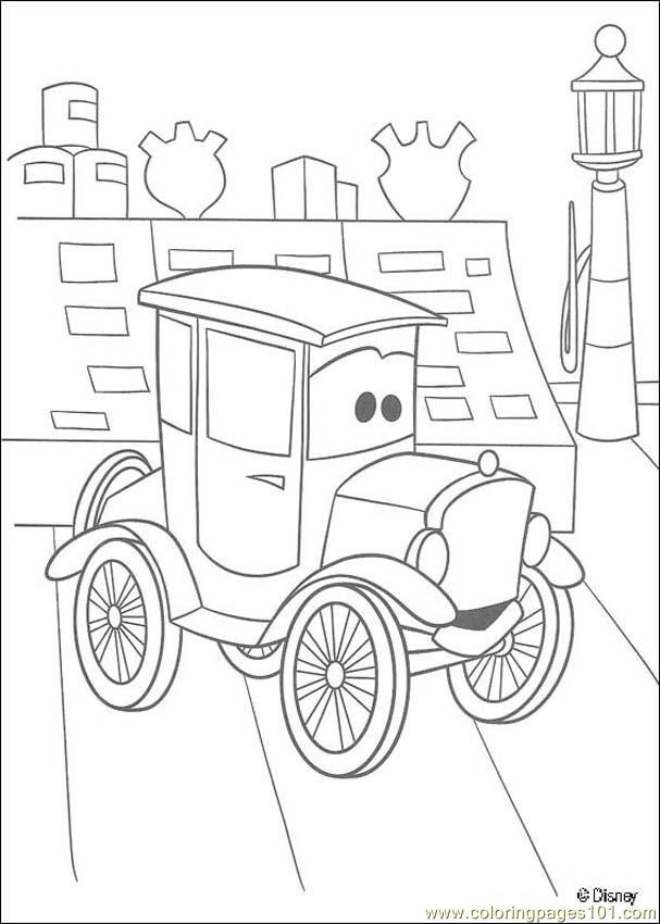 Cars N 22 53918 Coloring Page