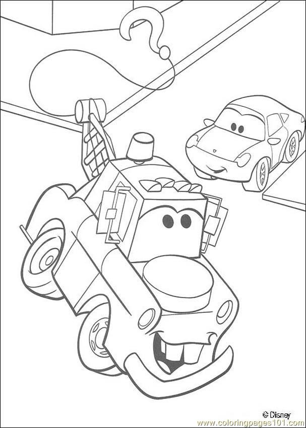 Cars N 37 4943 Coloring Page