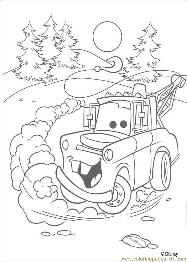 Cars N 41 62443 Coloring Page