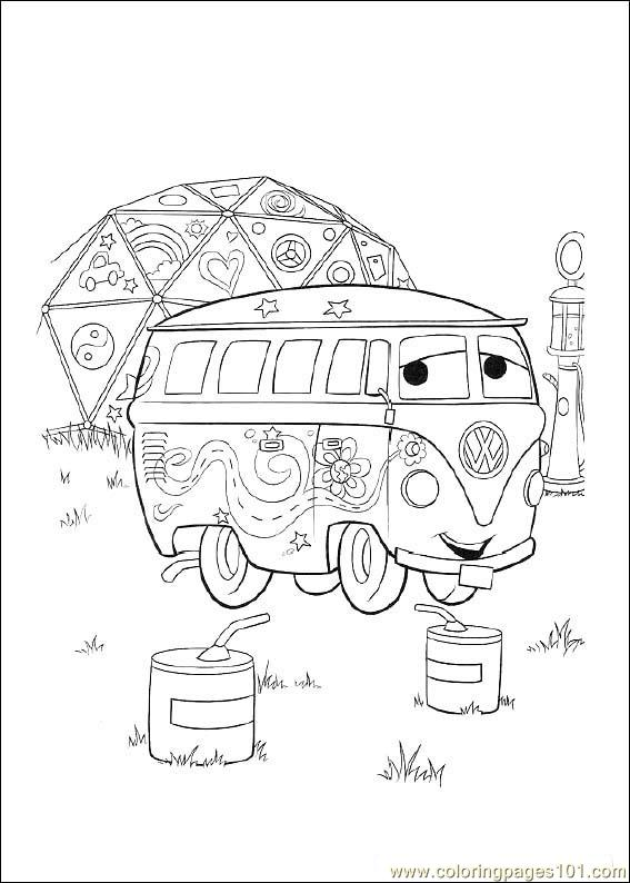 Disney Cars07 Coloring Page