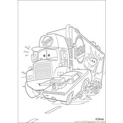 Cars N 19 6174 Free Coloring Page for Kids