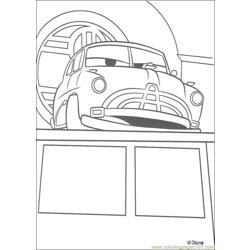 Cars N 21 5470 Free Coloring Page for Kids