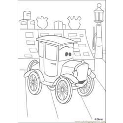 Cars N 22 53918 Free Coloring Page for Kids