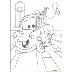 Cars N 23 28340 Free Coloring Page for Kids