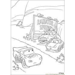 Cars N 28 55375 Free Coloring Page for Kids