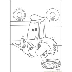 Cars N 30 72898 Free Coloring Page for Kids