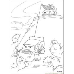 Cars N 35 83504 Free Coloring Page for Kids