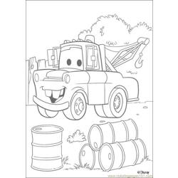 Cars N 5 18341 Free Coloring Page for Kids