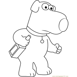 Brian Griffin by Oscartomas