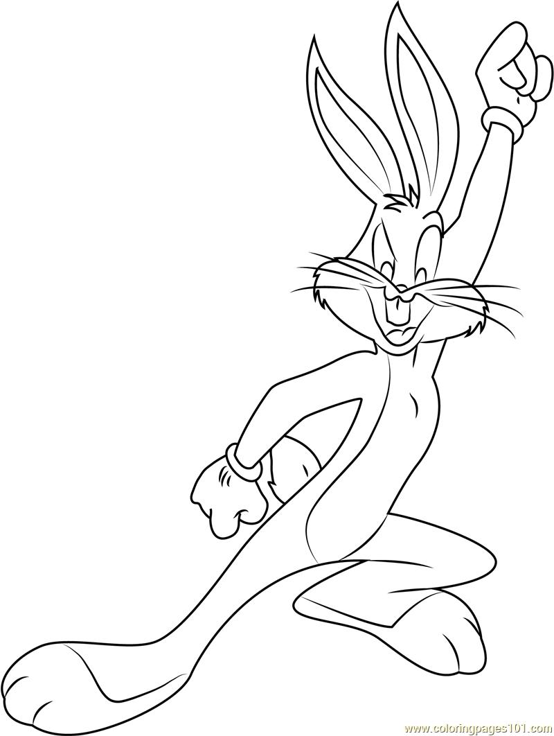 Fantastisch Bugs Bunny Malvorlagen Zum Ausdrucken Zeitgenössisch ...
