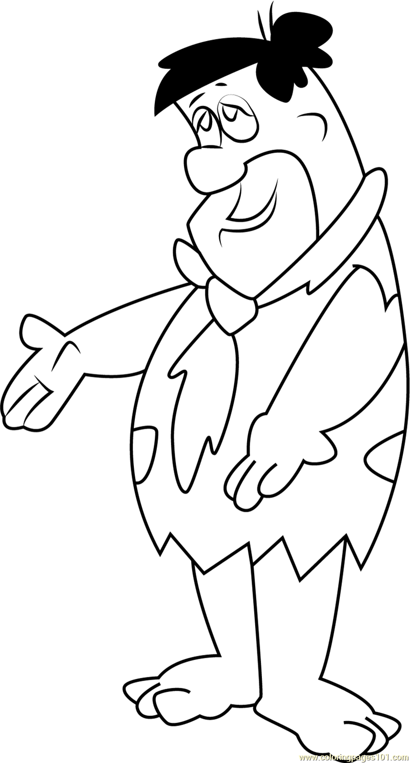 Fred W Coloring Page