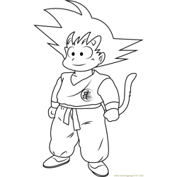 Goku in Dragon Ball