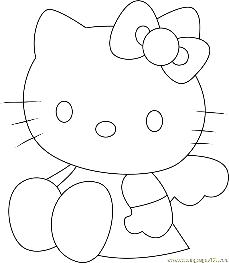 Look Me Coloring Page