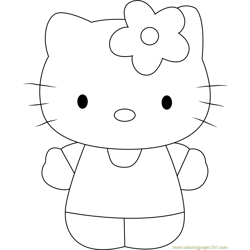 Miss White Free Coloring Page for Kids