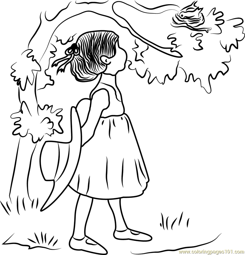 Holly Hobbie see Bird Nest Coloring Page