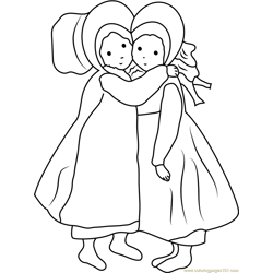 Holly Hobbie Sister coloring page