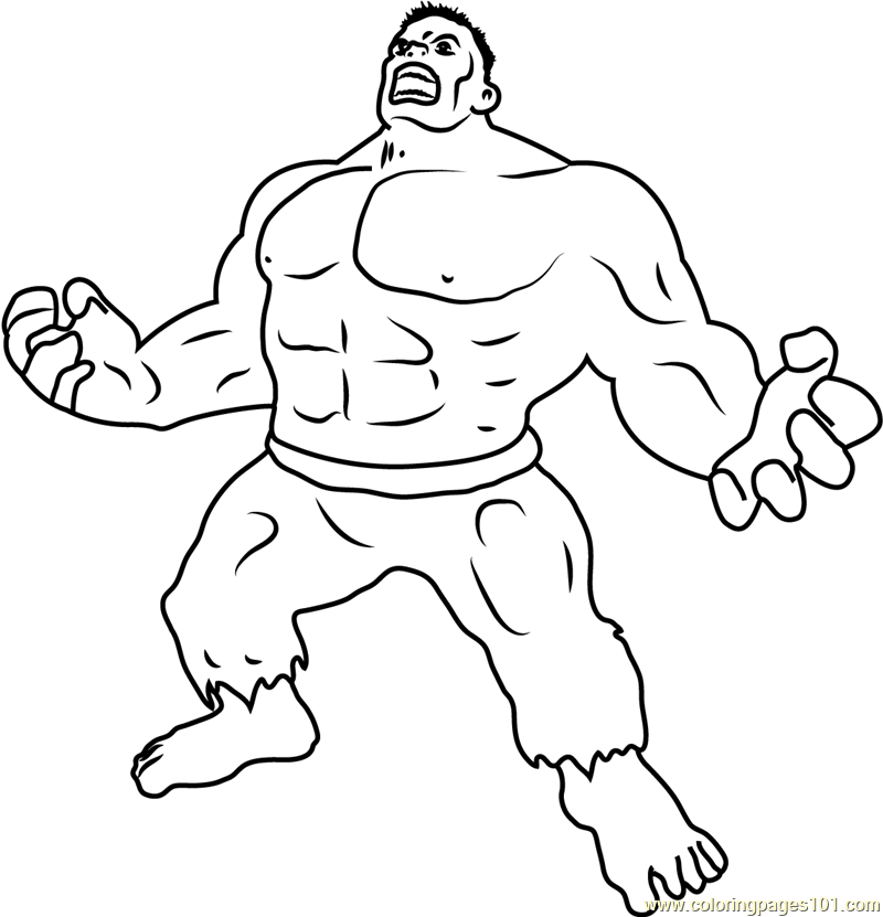 Ultimate Marvel Coloring Page - Free Hulk Coloring Pages ...