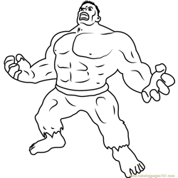 Ultimate Marvel Free Coloring Page for Kids