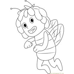 Maya the Bee coloring page