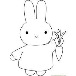 Miffy with Carrot