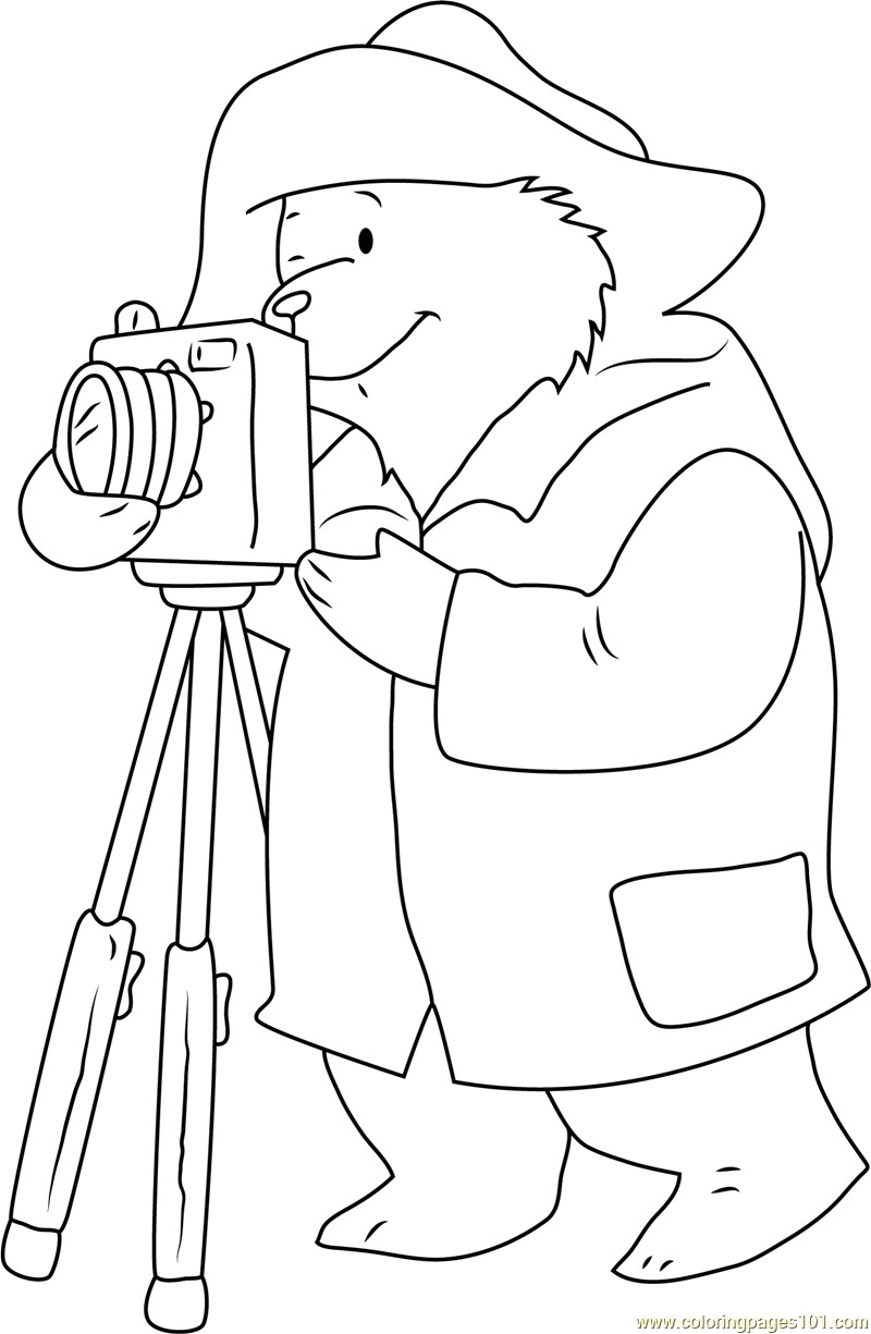 Say Cheez Coloring Page