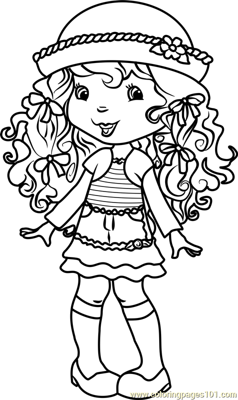 Angel Cake Coloring Page