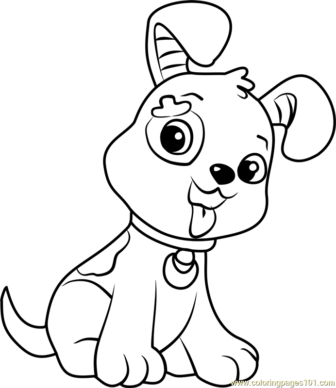 Pupcake Coloring Page Free Strawberry
