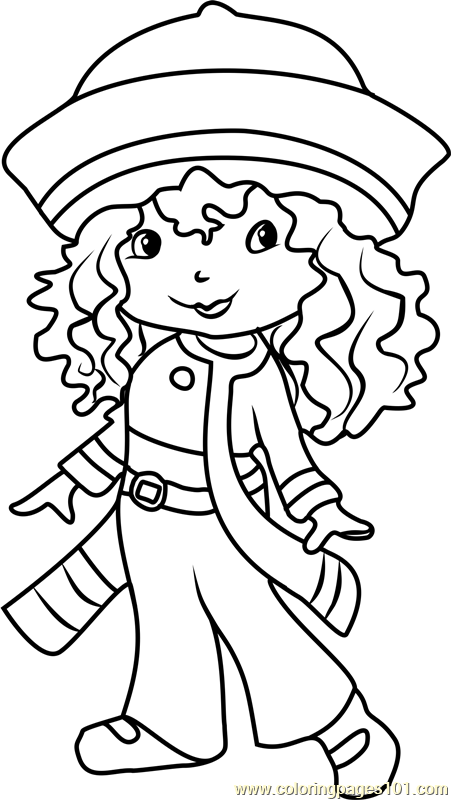 Rainbow Sherbet Coloring Page