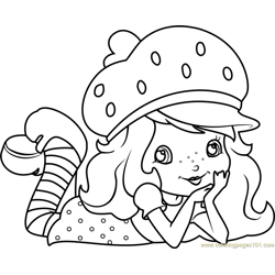 Cute Strawberry Shortcake