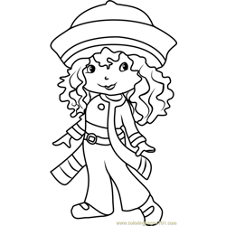 Rainbow Sherbet Free Coloring Page for Kids