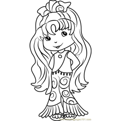 Seaberry Delight Free Coloring Page for Kids