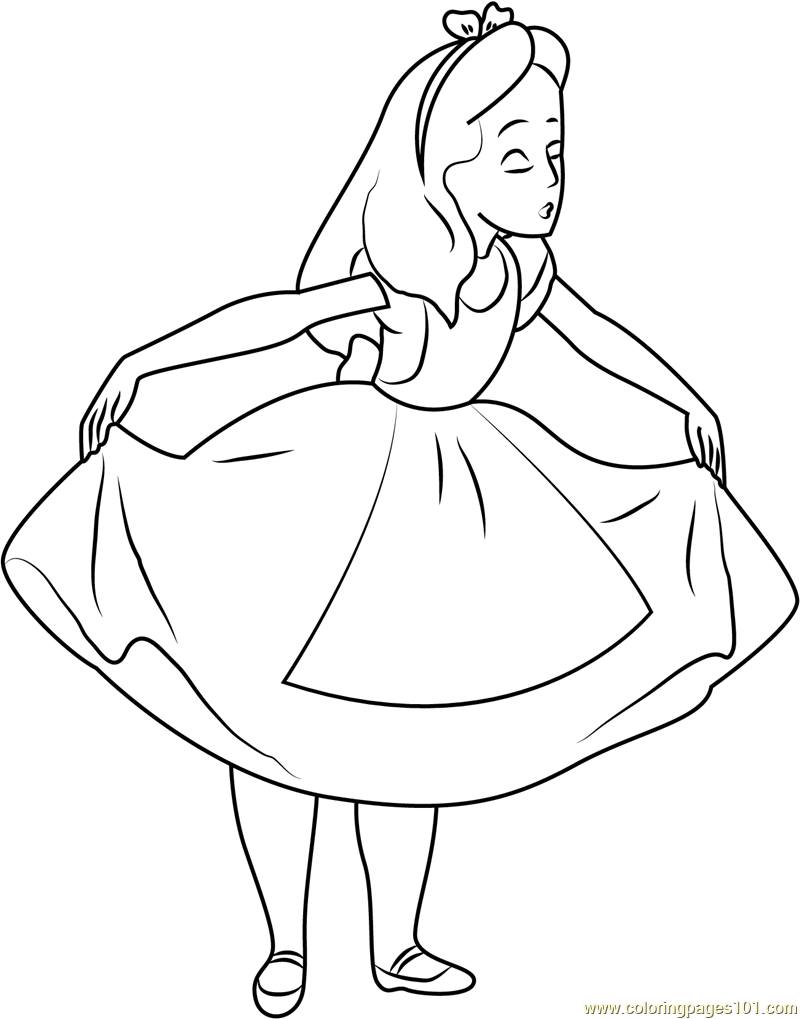 See me Happy Coloring Page