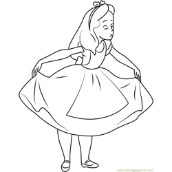 See me Happy Free Coloring Page for Kids