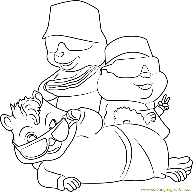 the chipmunks theodore theodore squeakquel - Theodore Chipmunk Coloring Pages
