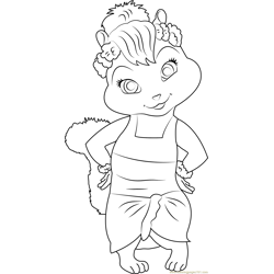 Jeanette coloring page
