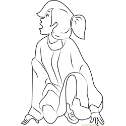 Anastasia coloring page