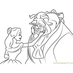 Love Boy coloring page