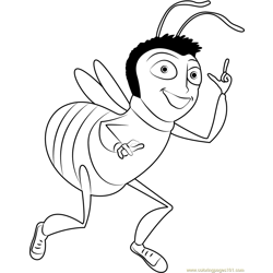 Martin Benson Free Coloring Page for Kids